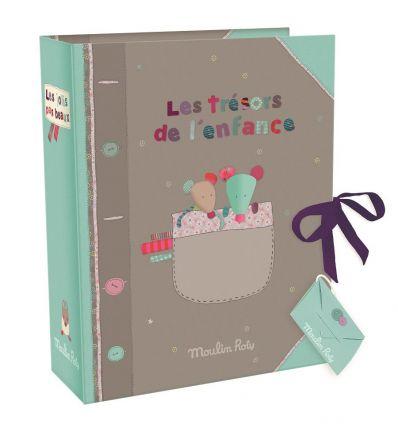 moulin roty - birth souvenir box les jolis pas beaux