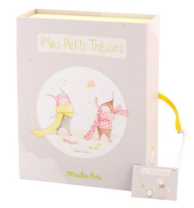 moulin roty - birth souvenir box les petit dodos