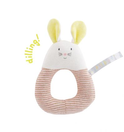 moulin roty - mouse ring rattle les petits dodos