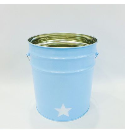 cestino gettacarta stella (azzurro)