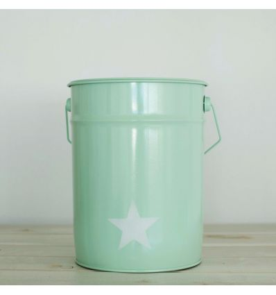 paper bin star (mint)