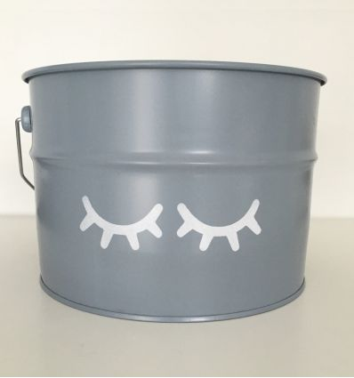 storage box sweet eyes (grey)