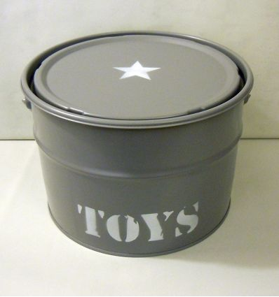 storage box toys (grey)