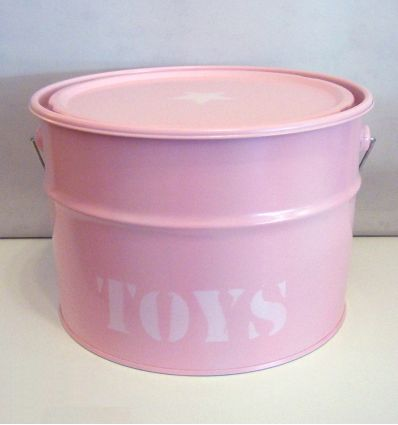 storage box toys (pink)