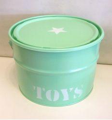 contenitore portatutto toys (verde menta)