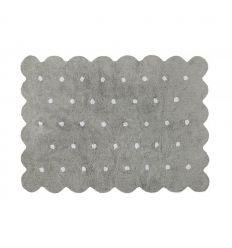 lorena canals - tappeto lavabile biscotto (grigio)