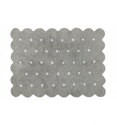 lorena canals - cotton rug biscuit (grey)