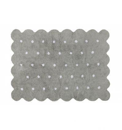 lorena canals - cotton rug biscuit (grey)
