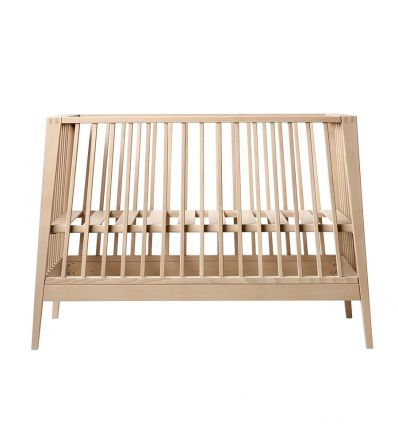 linea by leander - baby cot (beech)