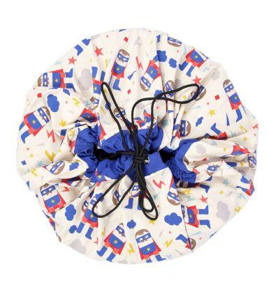 PLAY & GO toy storage bag superhero