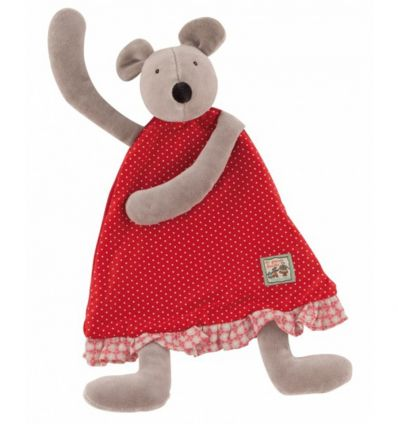 moulin roty - nini the mouse baby comforter la grande famille