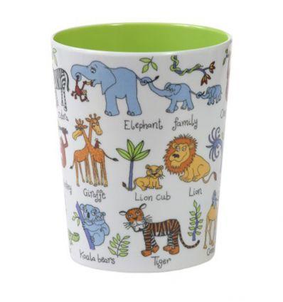 tyrrell katz - bicchiere animali della giungla