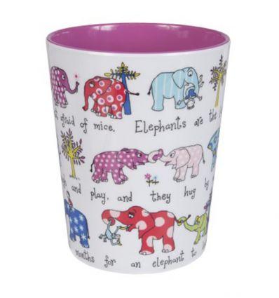 tyrrell katz - bicchiere elefanti