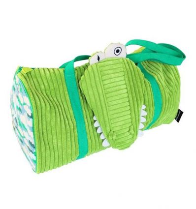 déglingos - borsa viaggio coccodrillo aligatos