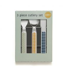 petit monkey - cutlery set (mouse green)