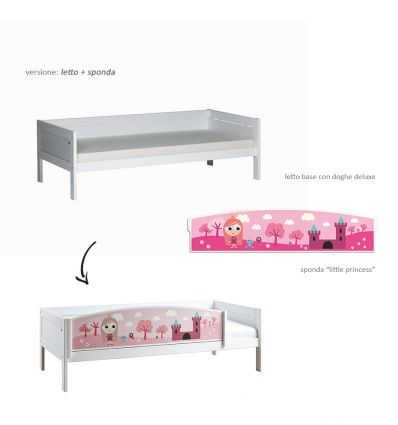 lifetime - little princess bed