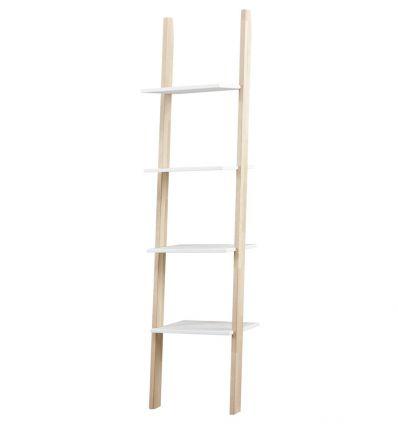 lifetime - bookcase (white/birch)