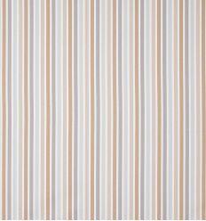 casadeco - tessuto d'arredo righe rayure (beige/tortora/grigio)