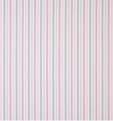 casadeco - fabric stripes rayure (rose/grey)