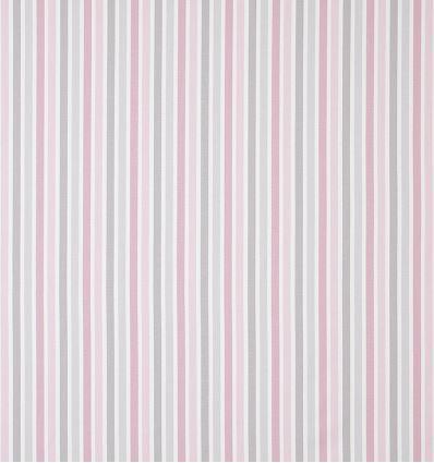casadeco - fabric stripes rayure (rose/grey)