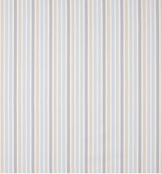 casadeco - tessuto d'arredo righe rayure (azzurro/beige/grigio)