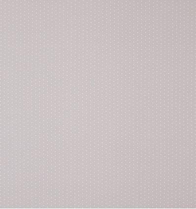 casadeco - tessuto d'arredo mini pois (grigio caldo)
