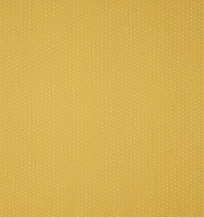 casadeco - fabric tiny polka dots pois (mustard)
