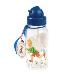 water bottle vintage boy