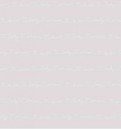 casadeco - wallpaper words wording (grey)