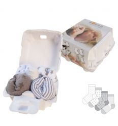 xplorys - calzini baby soggs (grigio)