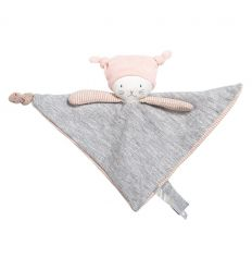 moulin roty - baby comforter moon the cat - les petit dodos
