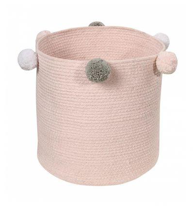 lorena canals - cesto portatutto bubbly (rosa)
