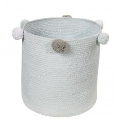 lorena canals - cesto portatutto bubbly (grigio perla)