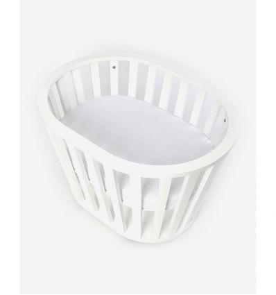 guum barcellona - miniguum crib (white)