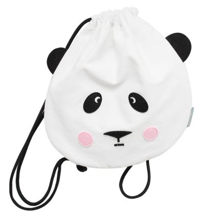 eef lillemor - drawstring bag panda love