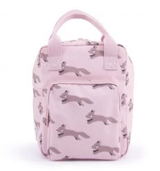 rilla go rilla - backpack foxes (pink)