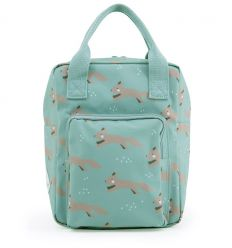 rilla go rilla - backpack foxes (mint)