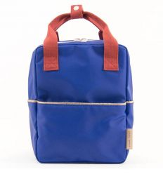 rilla go rilla - backpack small (ink-blu/red)