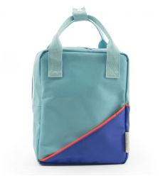 rilla go rilla - backpack small (aquamarine/blue)
