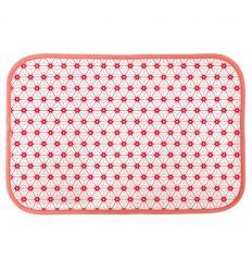 linna morata - tovaglietta sashiko (rosa)