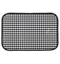 linna morata - place mat black/white