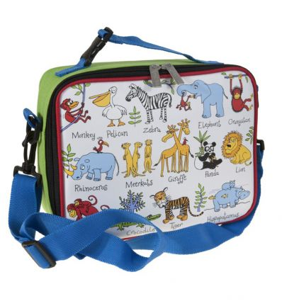 tyrrell katz - lunch bag princess jungle animals