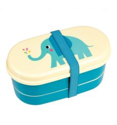 bento box with cutlery elvis the elephant