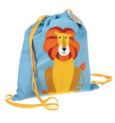 drawstring bag lion