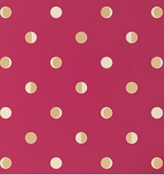 bartsch - wallpaper moon crescents (raspberry)