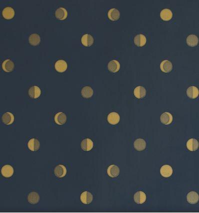 bartsch - carta da parati moon crescents (blu notte)