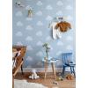 bartsch - carta da parati nuvole cotton clouds (blue smoke)
