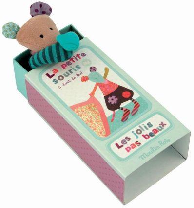 moulin roty - baby teeth box mouse les jolis pas beaux