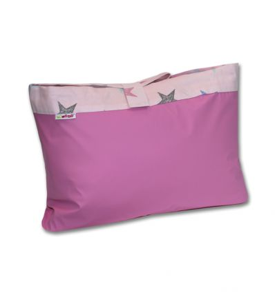 minene - tappeto da pic-nic stelle (rosa)