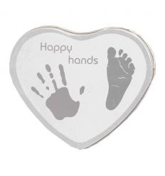 xplorys - kit prime impronte happy hands (grigio)